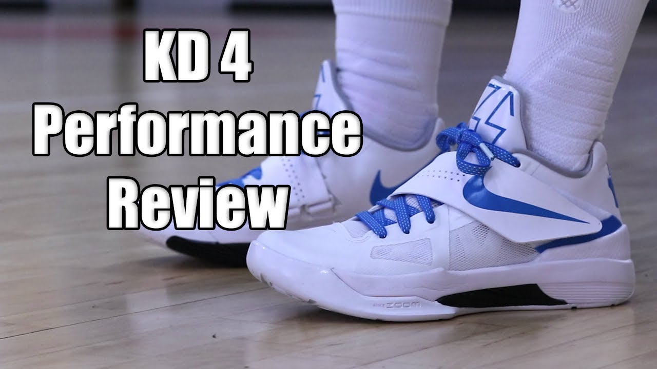 a773b5c11f7f Nike KD 4 (Retro) Performance Review - YouTube