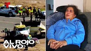 Madre inmigrante narra cómo vio morir a hija en choque de camión en Imperial, California