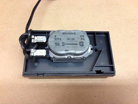 Arrow Ball Clock Intermatic Motor Test & Repair