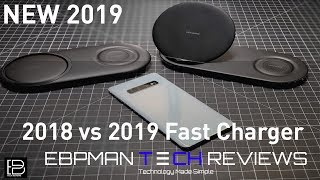 2019 Samsung Wireless Quick Charge Duo - 12W fast charger at the speed of a wall charger