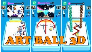 Art Ball 3D  -  Gameplay | 20 Levels