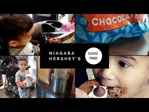 Hershey's Chocolate World Niagara // What's Inside?