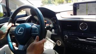 Lexus RX350 Lexus Safety System Features Demonstration