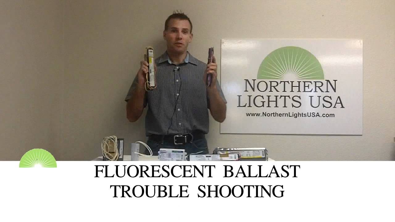Fluorescent ballast trouble shooting - YouTube