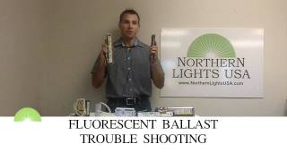 Fluorescent ballast trouble shooting