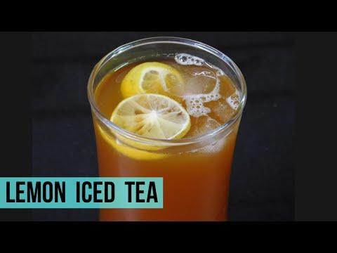How to make lemon iced tea for one