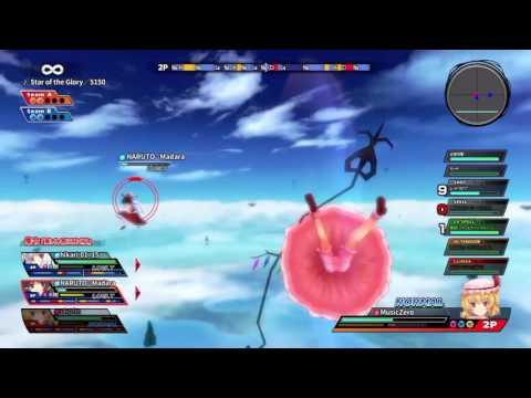 Touhou Sky Arena PS4 Public Lobby 2v2 Match -The Scarlet Devils-