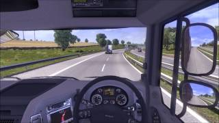Euro Truck Simulator 2 Gameplay#6 with Logitech G27 [HD]