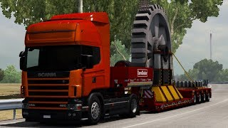 [1.34] Euro Truck Simulator 2 | Trailer 5.5M Gear | Mods