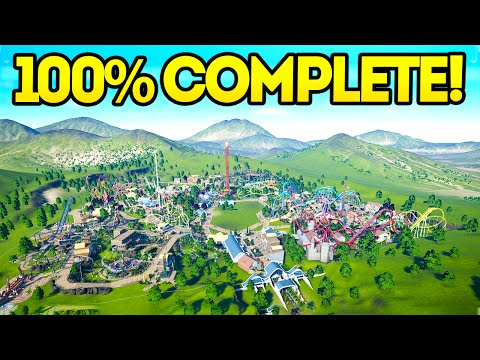 Planet Coaster Creations : THE 100% COMPLETED PARK!!
