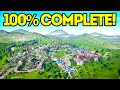 Planet Coaster Creations : THE 100% COMP