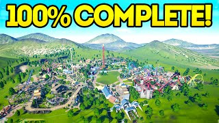 planet coaster creations the 100 completed park
