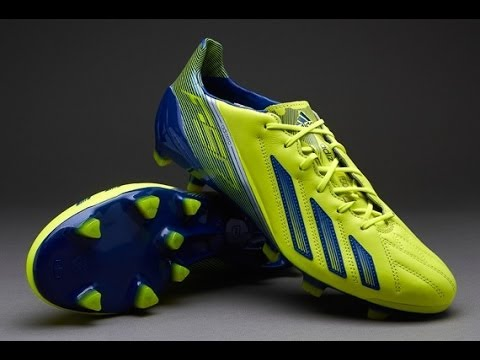 1d0dfa824 Unboxing Adidas F50 Adizero Electricity Hero INK and Silver Leather ...