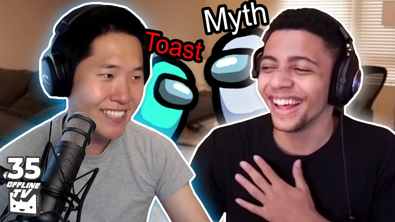 AMONG US ft. TSM Myth | OfflineTV Podcast #35