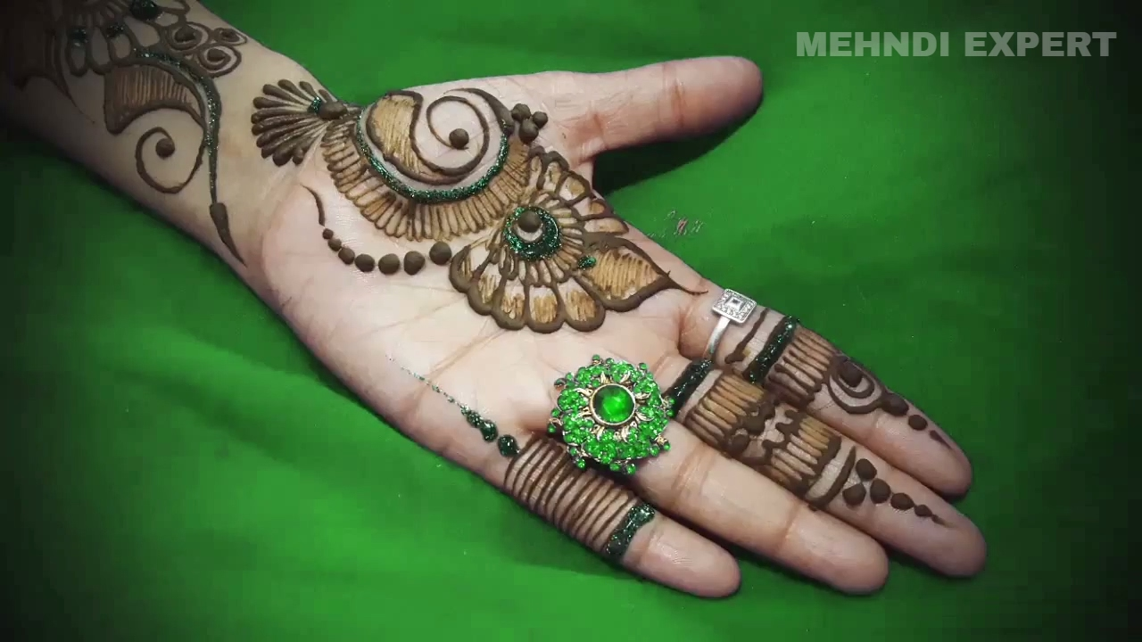 Latest Stylish Arabic Beautiful Mehndi Designs For Hands Easy Unique Mehndi Art Tutorial 2