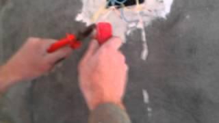 Сварка графитом медных проводов(Сварка графитовым стержнем медных проводов., 2016-03-06T17:22:53.000Z)