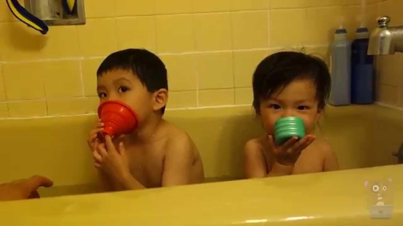 Children Bath Time - YouTube