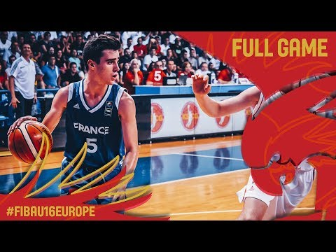 Montenegro v France - Full Game - Final - FIBA U16 European Championship 2017