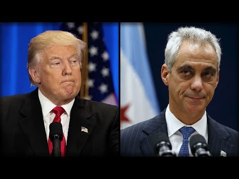 HERE WE GO! TRUMP JUST KEPT HIS WORD ON CHICAGO - RAHM EMANUEL NOT HAPPY