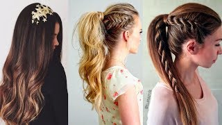 8 Easy Winter Hairstyle Ideas | Winter hairstyles |Part-1