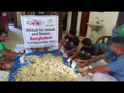 Amirah and Naeem Bangladesh - 3rd September 2021 Wedding Favours