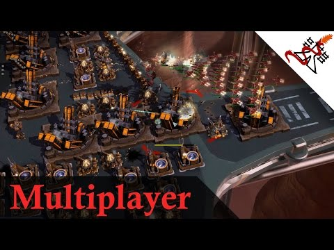 Supreme Commander 2 - 3vs2 Noah Unit Cannon Spam | Multiplayer Gameplay