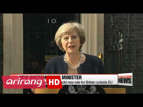 New British PM takes office and assembles government