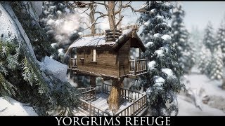 TES V - Skyrim Mods: Yorgrims Refuge - Player Treehouse