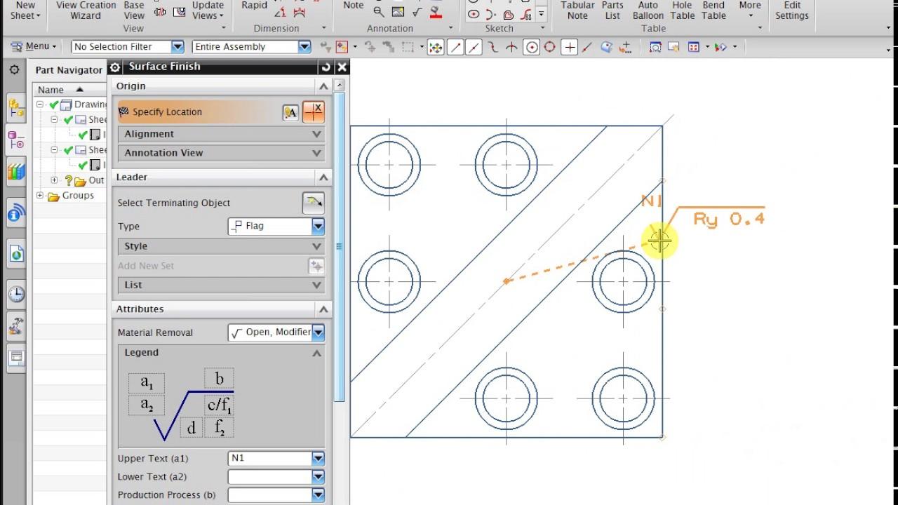 Create surface finish symbols youtube create surface finish symbols biocorpaavc Gallery