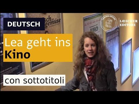 Deutsch - Lea geht ins Kino (mit Untertiteln)