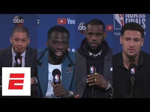 Cavaliers and Warriors react to Steph Curry's 9 3-pointers in Game 2 of 2018 NBA Finals | ESPN