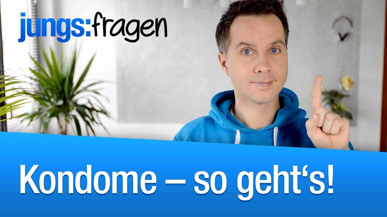 Richtige Kondom-Benutzung   jungsfragen.de - YouTube