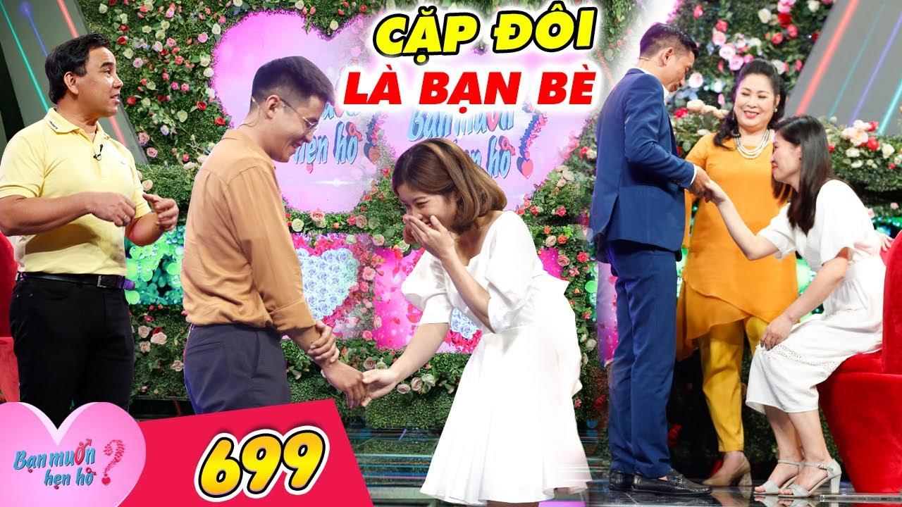 Download Bạn Muốn Hẹn Hò #699 I Yêu 10 cô gái, trai MỘT ĐỜI VỢ bị nhà gái TRA HỎI CỰC CĂNG trước khi bấm nút