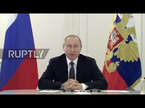 Russia: Putin lauds launch of new oil and gas facilities in Russia's north