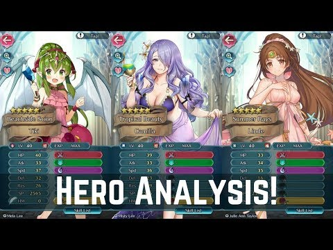 Top Tier Heroes! (☆ω☆) A Sketchy Summer Banner Stats Analysis! | FEH News 【Fire Emblem Heroes】