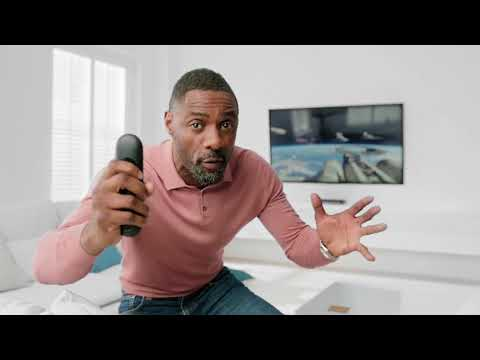 Sky Q  with Idris Elba – Find Your Remote & Voice Control