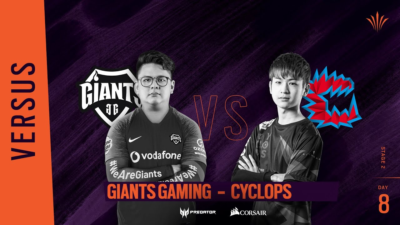 Giants Gaming vs Cyclops // Rainbow Six APAC North Division 2020 - Stage 2 - Playday #8