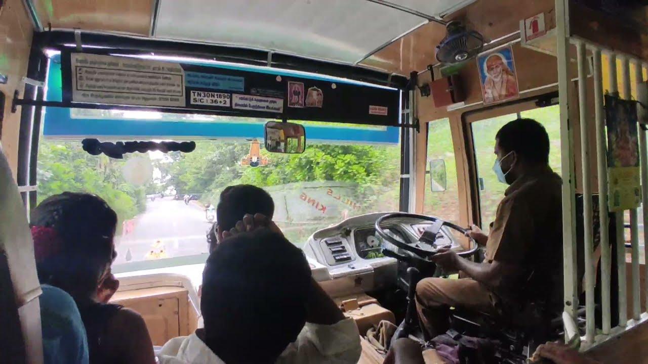Download selam to yercaud tnstc government bus cabin ride    original sound🔊    Travel view....