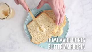 Homemade Honey Butter Ambrosia