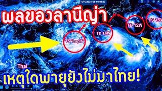 ผลของ'ลานีญ่า' ทำไมพายุไม่เข้าไทย! พยากรณ์อากาศวันนี้ 5-6 ส.ค.