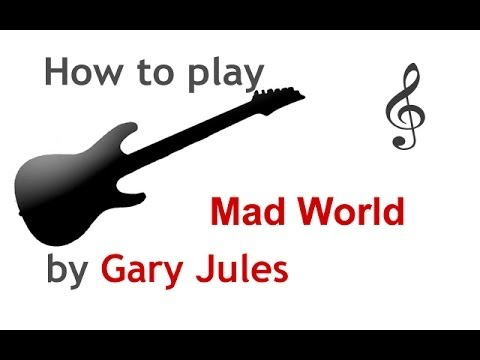 Mad World by Gary Jules very easy guitar song lesson - guitarguitar ...