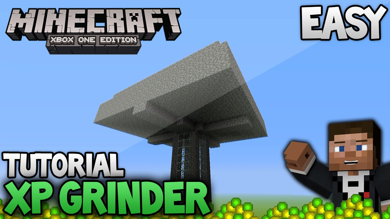 Minecraft Mob Spawner/XP Grinder - Easy Tutorial(Xbox 8 /Ps8/Xbox one/Ps8)