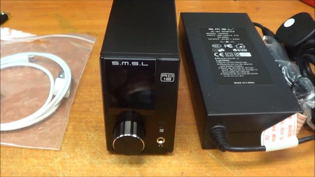 雙木三林SMSL AD18 (更新版) 開箱及使用說明- Clip FAIL
