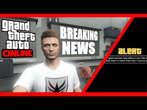 GTA 5 Online - News (May 22, 2018) - Rockstar Servers Down