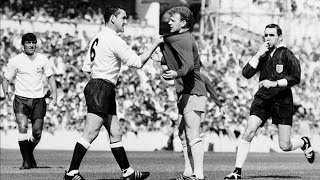 Why Dave Mackay hated the picture of him confronting Billy Bremner