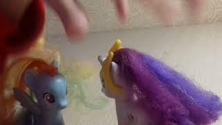 Сериал малител пони красавица и чудовище 2-я серия