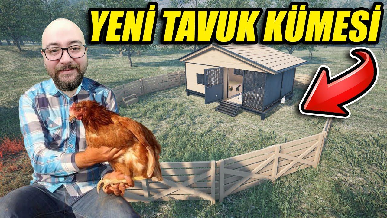 EN LÜKS TAVUK KÜMESİNİ KURUYORUZ // TAVUKLARA FERAH YAŞAM | RANCH SIMULATOR !!