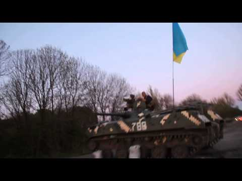 Sloviansk surrounded by Ukraine army