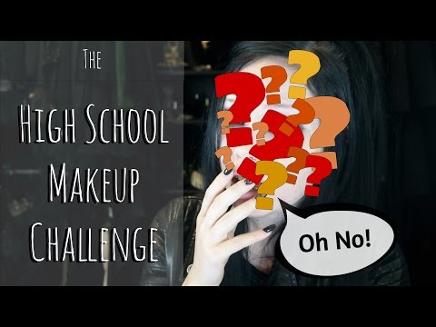 High School Makeup Challenge (with Pictures!) || ReeRee Phillips