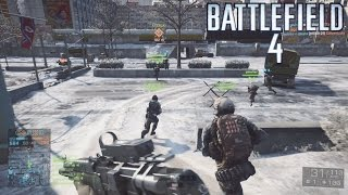 Battlefield 4: Multiplayer Gameplay #97 ::Conquest:: | Follow The Squad! - No Commentary